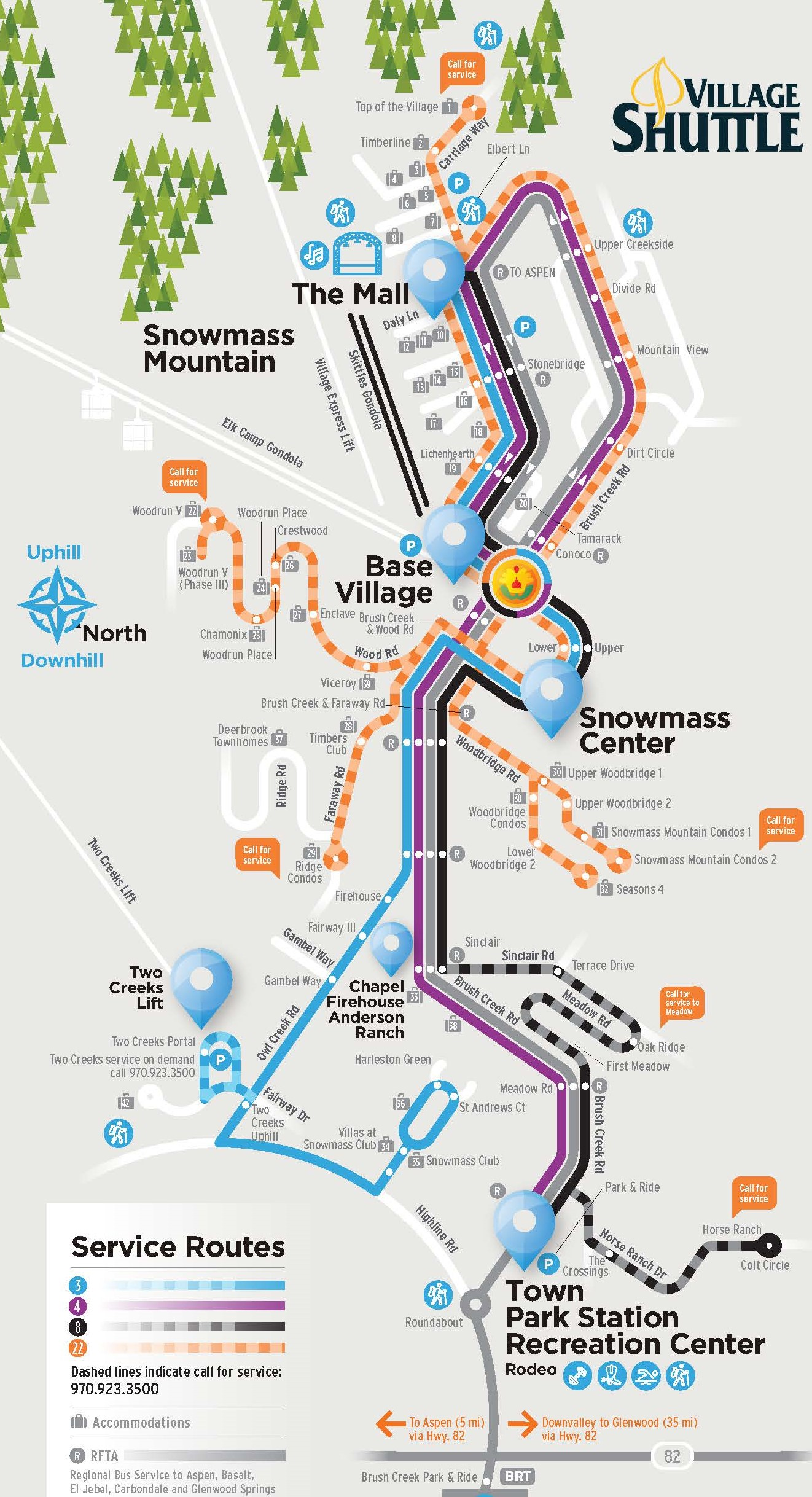 Routes & Schedules | Snowmass Village Transportation